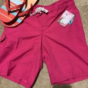 KANU pink surf swim shorts 8